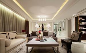 120平米法式风格室内装修效果图赏析