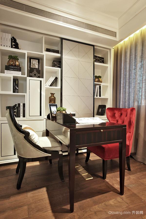 古典欧式风格两室两厅室内装修效果图赏析