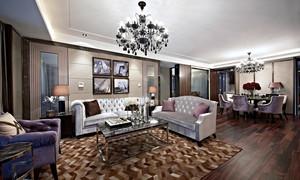 后现代风格三室两厅室内装修效果图鉴赏