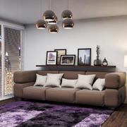 后现代风格小户型客厅沙发装修效果图赏析