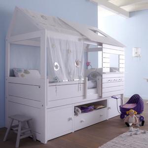 简欧风格三居室创意儿童房装修效果图