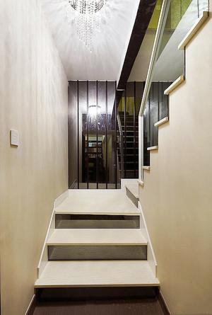 现代简约风格小复式楼楼梯装修效果图