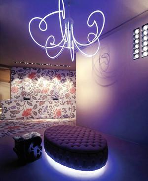 现代风格创意马赛克背景墙装修效果图大全案例