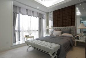 温馨低调奢华欧式风格大户型室内装修效果图