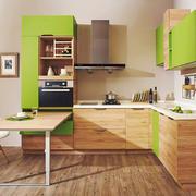 日式简约风格小户型厨房吧台装修效果图赏析