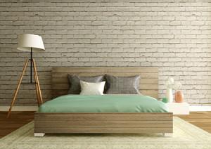 现代简约风格小户型室内卧室背景墙装修效果图