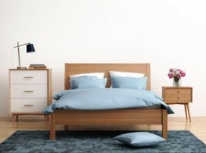 新中式风格小户型卧室装修效果图