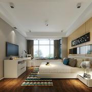 30平米现代风格卧室飘窗装修效果图赏析