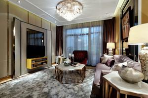 120平米现代风格两室两厅一卫室内装修效果图
