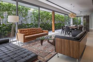 200平米现代风格别墅室内装修效果图赏析
