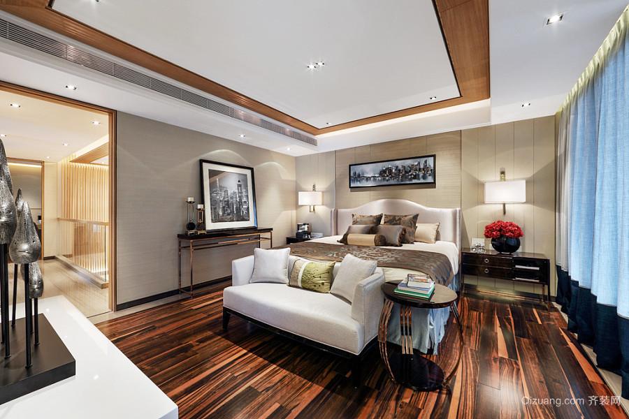 现代简约中式风格别墅室内装修效果图赏析