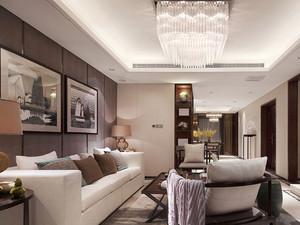 140平米中式风格三室两厅室内装修效果图赏析