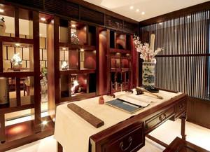 中式风格书房设计装修效果图大全案例