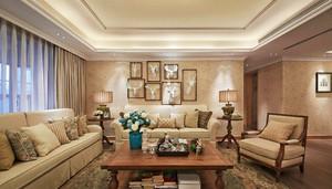 法式乡村风格两室两厅室内装修效果图鉴赏