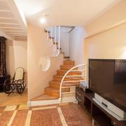 简欧风格小复式楼楼梯装修效果图赏析