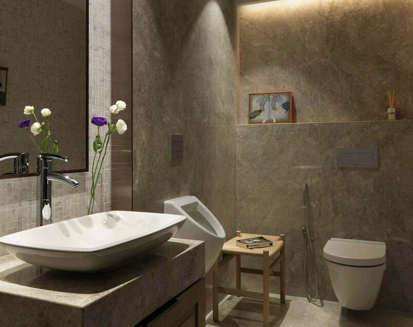 60平米美式风格小户型室内装修效果图鉴赏