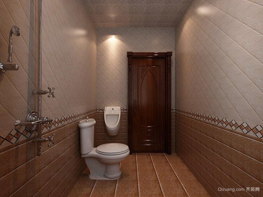 精致典雅古典美式风格别墅室内装修效果图鉴赏