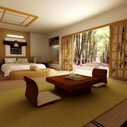 24平米日式风格卧室榻榻米装修效果图赏析