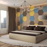 现代简约风格小户型卧室背景墙装修效果图赏析
