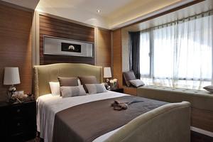 24平米东南亚风格卧室飘窗装修效果图赏析