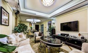 新古典主义风格两室两厅一卫室内装修效果图