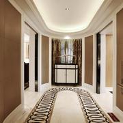144平米现代风格室内玄关设计效果图赏析