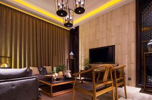 精致典雅中式风格小户型室内装修效果图赏析
