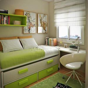 8平米现代简约风格中性暖色儿童房设计效果图大全