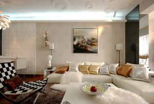 94平米现代简约风格婚房设计装修效果图赏析