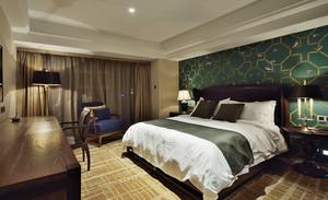 55平米东南亚风格宾馆装修效果图赏析
