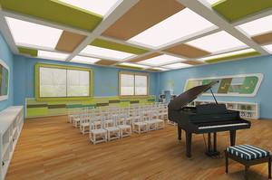 150平米现代简约风格幼儿园教室装修效果图