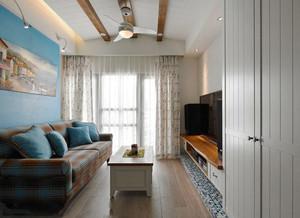 80平米地中海风格室内装修效果图赏析