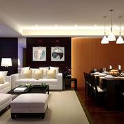 后现代风格小户型客厅吊顶装修效果图赏析