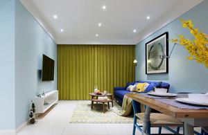 60平米现代风格小户型室内装修效果图鉴赏