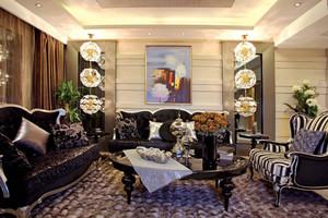 187平米新古典主义风格大户型室内装修效果图赏析