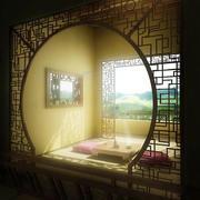 古朴雅致中式风格大户型榻榻米装修效果图