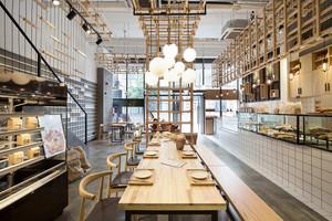 168平米现代风格面包店装修效果图赏析