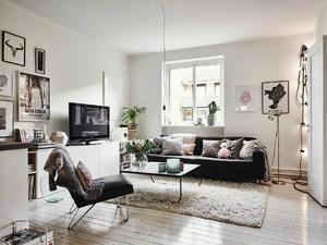 时尚北欧风格小户型室内装修效果图鉴赏