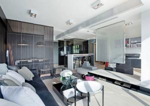 后现代风格大户型室内装修效果图赏析