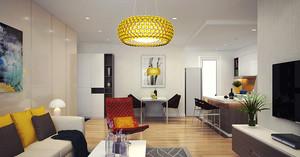 90平米现代简约风格室内装修效果图赏析