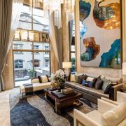 现代风格独栋别墅客厅装修效果图鉴赏