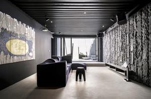 156平米后现代风格大户型室内装修效果图