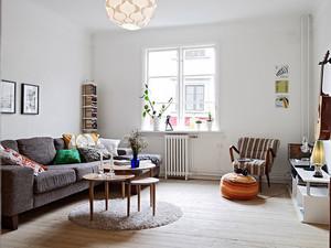 60平米现代简约风格小户型室内装修效果图鉴赏