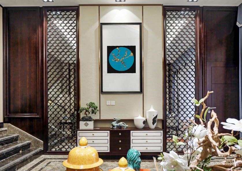 古典中式风格别墅室内整体装修效果图赏析