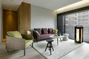 80平米现代风格原木色家装设计效果图鉴赏