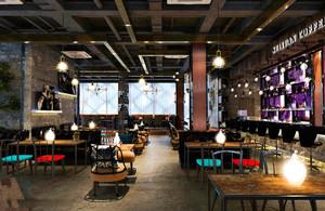 后现代风格音乐酒吧设计效果图