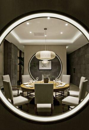 古朴雅韵中式风格酒店包厢设计效果图