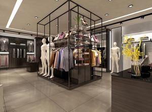 187平米后现代风格服装店装修效果图赏析