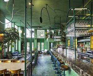 169平米现代工业风格酒吧装修效果图鉴赏