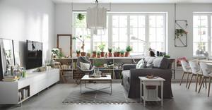 50平米北欧风格单身公寓室内装修效果图鉴赏